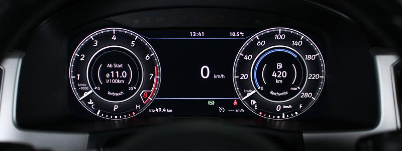 Active Info Display VW Atlas