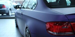 BMW Lila Matt Metallic Folierung
