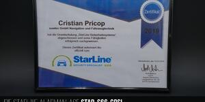 Zertifikat für professionelle Dienstleistung im Bereich des Diebstahlschutzes