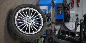 Unsere Reifen werden immer perfekt für Ihr Auto ausgewuchtet